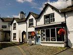 Pretty village of Hawkshead