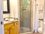 Newly remodeled master bathroom!