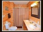 1 of 5 Full Bathrooms - off of master bathroom - main level