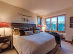 You won't miss out on those amazing views from the master bedroom.