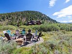 SkyRun Property - 'Swan River Retreat' - Outdoor firepit on open acreage **Not available in winter or during fire bans**