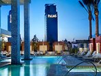 Relax at the luxurious pool