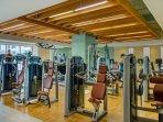 Fitness Center Machine