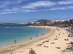 Beautiful Dorada beach is only a 15 minute flat walk away. Restaurants and cafes along the sea front