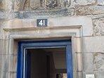 main door to apartment