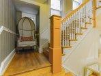 Hallway stairwell