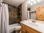 Updated Guest Bathroom / Large Vanity / Shower + Tub