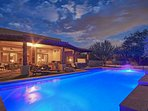 Swim in our heated pool at all times day & night