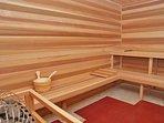 Beautiful large Sauna