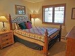 Bedroom 3 has a Queen bed, HDTV, and adjacent bathroom