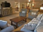 Upper Lounge in the Clubhouse