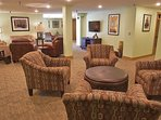 Lower Lounge in the Clubhouse