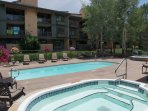 2 large Hot Tubs, a Heated Pool, and a heated pool deck