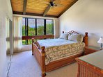 Second Bedroom with view of Hualalai volcano