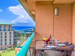 Boasting Pacific Ocean AND West Maui Mountain views