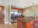 Prepare meals or refreshments in the full gourmet kitchen