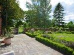 Pretty garden area