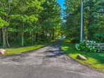 Enjoy wonderful landscaping as you pull in and out of this Orchard Park driveway!