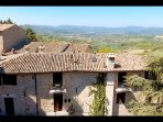 The Apartments Montone and their stunning views of Umbria