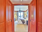 Master Bedroom double closets