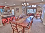 Lower Dining Room of Park City Ultimate Estate