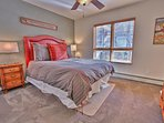5th Bedroom with Queen Bed and Private Bath with Tub/Shower