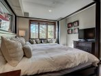 Lower Level Master Suite with King Bed, HD TV, Private Bath