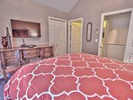 7th Bedroom with Queen Bed, 48' TV and DVD Player