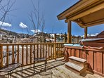 Private Hot Tub with Fabulous Views of Deer Valley Resort