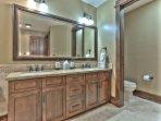 Master Bedroom Suite Dual Sinks