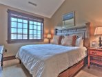 Bedroom 2 with King Bed, 50' HD Smart TV, Private Bath