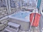 Front Deck Hot Tub at Park City Ultimate Estate