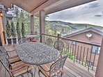 Deck off Great Room with BBQ Grill