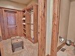 Grand Master Bathroom with Walk-In Closet