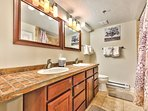 Master Bath with Twin Vanities, Jetted Tub and Shower