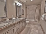 Lower Level Full Bath with Tub and Shower