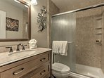 Master Bath with Tub and Shower Combo