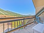 Park City Mountain Views from the Private Deck