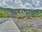Short Walk to Deer Valley Resort Snow Park Lodge, Chair Lifts and Ski Runs, Amphitheater for Summer Concerts and St...