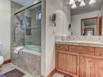 Master Bath 1 with Jetted Tub/Shower
