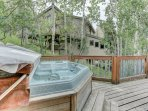 5-Person Hot Tub on Private Deck