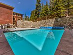 Communal Pool and Hot Tub at Black Bear Lodge