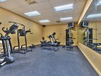 Communal Fitness Room at Black Bear Lodge