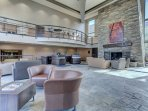 Front Desk and Lobby at The Prospector