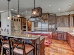 Fully Equipped Gourmet Chef's Kitchen with High End Appliances