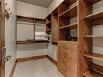 Bedroom 3 Walk-In Closet