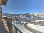 Gorgeous Mountain Views from Main Level Deck