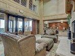 Silverado Lodge Lobby and Check In Desk