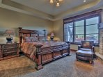 Park City Silver Star (ski in/Ski out)- Master Bedroom #1 with King bed and attached bathroom