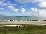 Gorgeous Lake Erie and island views from the condo!